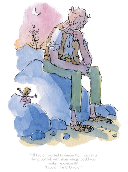 Quentin Blake - BFG - Could You Make Me Dream It?