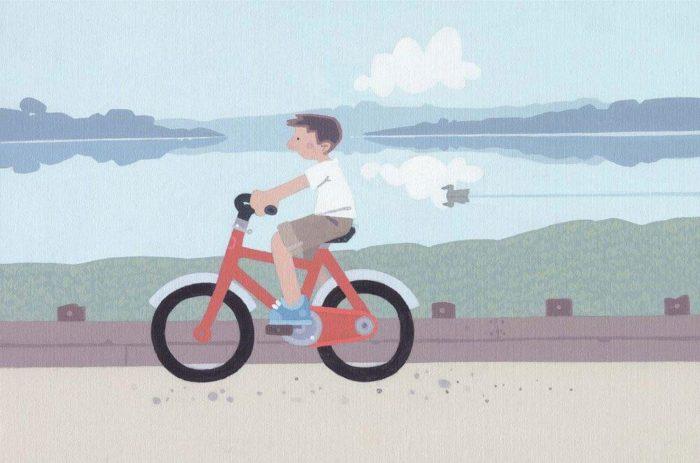 Sasha Harding - A Red Bike