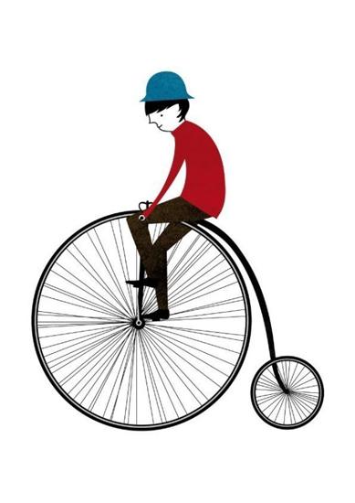Blanca Gomez - The Cyclist
