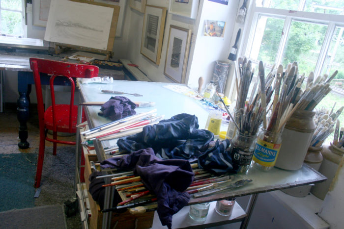 Richard Croft's Painting Table