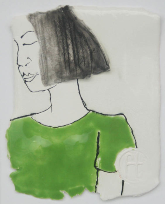 Fiona Todd - Girl in the Green Top